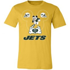 I Love The Jets Mickey Mouse New York Jets Unisex Jersey Tee