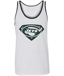 We Are Undefeatable The New York Jets x Superman NFL Unisex Tank