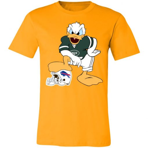 You Cannot Win Against The Donald New York Jets NFL Unisex Jersey Tee