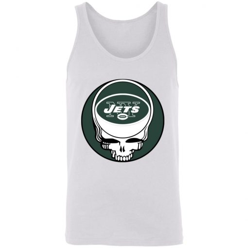 NFL Team New York Jets x Grateful Dead Logo Band Unisex Tank