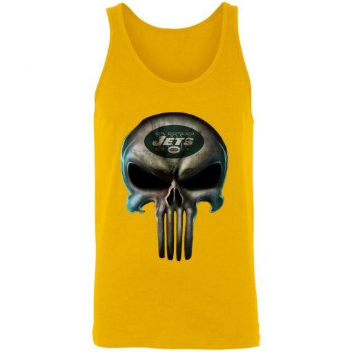 New York Jets The Punisher Mashup Football Unisex Tank