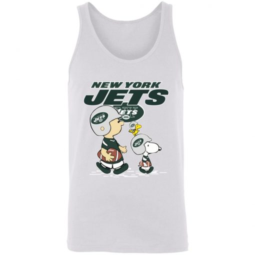 New York Jets Let's Play Football Together Snoopy NFL Unisex Tank