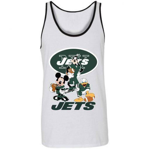 Mickey Donald Goofy The Three New York Jets Football Unisex Tank