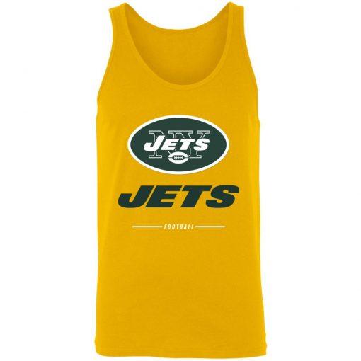 Men's new york jets NFL Pro Line Black Team Lockup Unisex Tank