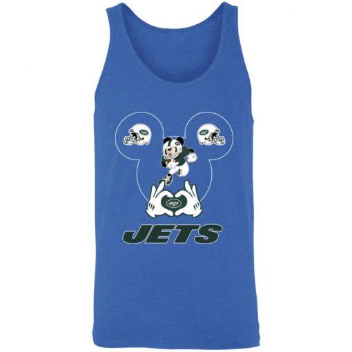 I Love The Jets Mickey Mouse New York Jets Unisex Tank