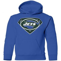 We Are Undefeatable The New York Jets x Superman NFL Youth Hoodie