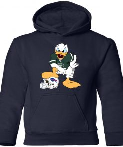 You Cannot Win Against The Donald New York Jets NFL Youth Hoodie