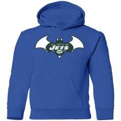 We Are The New York Jets Batman NFL Mashup Youth Hoodie