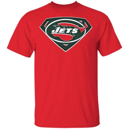 We Are Undefeatable The New York Jets x Superman NFL Men's T-Shirt