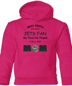 Most People Call Me New York Jets Fan Football Mom Youth Hoodie