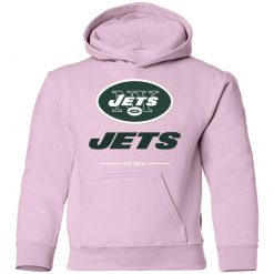 Men's new york jets NFL Pro Line Black Team Lockup Youth Hoodie