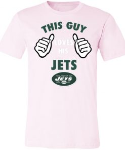This Guy Loves His New York Jets Unisex Jersey Tee