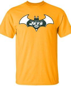 We Are The New York Jets Batman NFL Mashup Men's T-Shirt