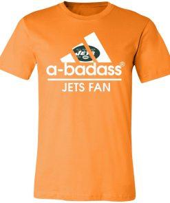 A-Badass New York Jets Mashup Adidas NFL Unisex Jersey Tee