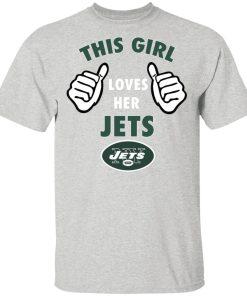 This Girl Loves Her New York Jets Men's T-Shirt
