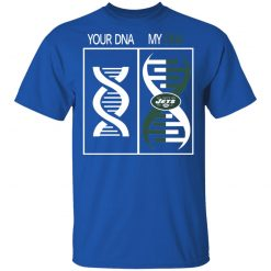 My DNA Is The New York Jets Football NFL Men's T-Shirt
