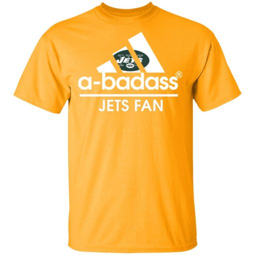A-Badass New York Jets Mashup Adidas NFL Men's T-Shirt
