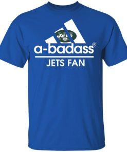 A-Badass New York Jets Mashup Adidas NFL Men's T-Shirt