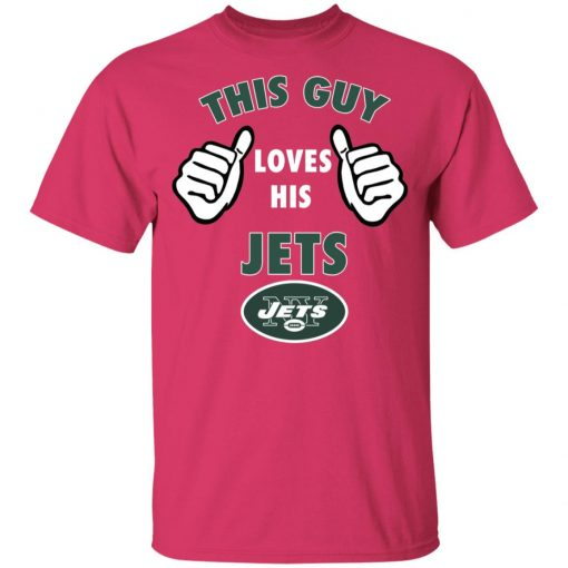 This Guy Loves His New York Jets Youth T-Shirt
