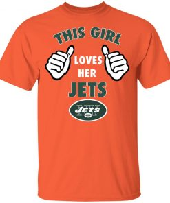 This Girl Loves Her New York Jets Youth T-Shirt