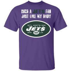 New York Jets Born A Jets Fan Just Like My Daddy Youth T-Shirt