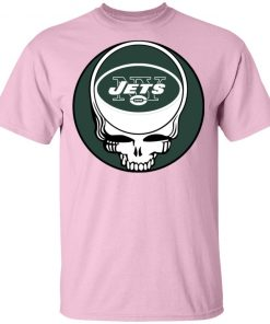 NFL Team New York Jets x Grateful Dead Logo Band Men's T-Shirt