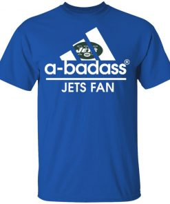 A-Badass New York Jets Mashup Adidas NFL Youth T-Shirt
