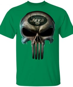 New York Jets The Punisher Mashup Football Men's T-Shirt