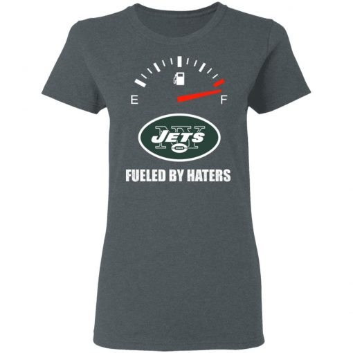 Fueled By Haters Maximum Fuel New York Jets Women's T-Shirt