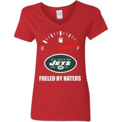 Fueled By Haters Maximum Fuel New York Jets V-Neck T-Shirt