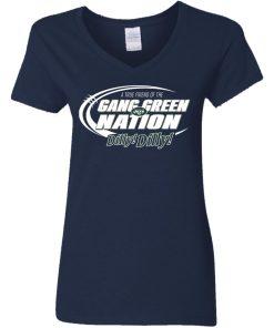 A True Friend Of The Gang Green Nation V-Neck T-Shirt