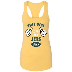 This Girl Loves Her New York Jets Racerback Tank