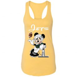 Mickey Jets Taking The Super Bowl Trophy Football Racerback Tank