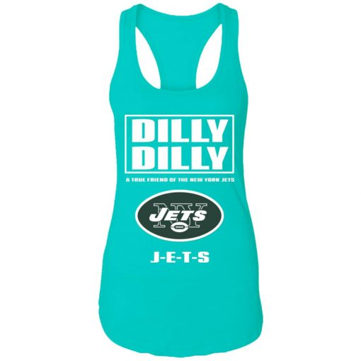 A True Friend Of The New York Jets Racerback Tank