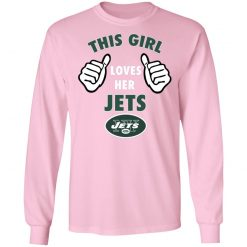 This Girl Loves Her New York Jets LS T-Shirt