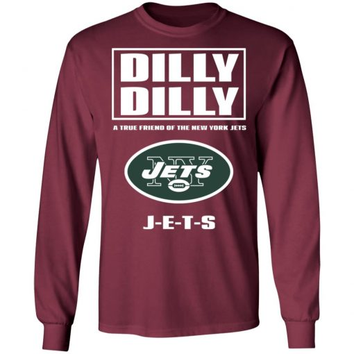 A True Friend Of The New York Jets LS T-Shirt
