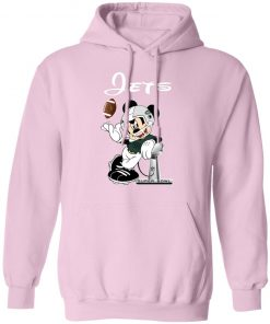 Mickey Jets Taking The Super Bowl Trophy Football Hoodie