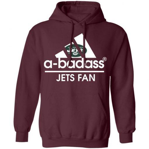 A-Badass New York Jets Mashup Adidas NFL Hoodie
