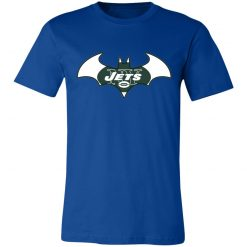 We Are The New York Jets Batman NFL Mashup Unisex Jersey Tee