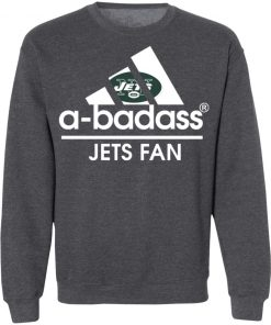 A-Badass New York Jets Mashup Adidas NFL Sweatshirt