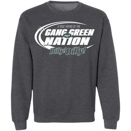 A True Friend Of The Gang Green Nation Sweatshirt