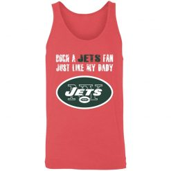 New York Jets Born A Jets Fan Just Like My Daddy 3480 Unisex Tank