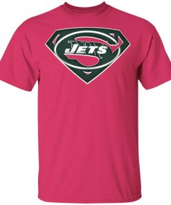 We Are Undefeatable The New York Jets x Superman NFL Youth's T-Shirt