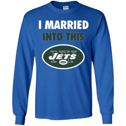 This Girl Loves Her New York Jets Youth LS T-Shirt