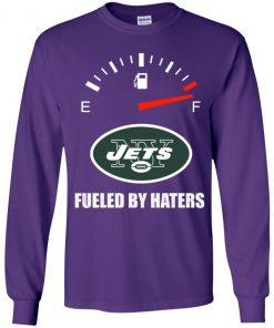 Fueled By Haters Maximum Fuel New York Jets Youth LS T-Shirt