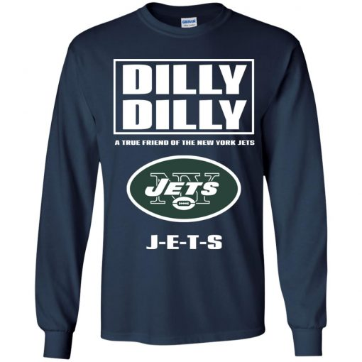 A True Friend Of The New York Jets Youth LS T-Shirt