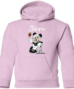 Mickey Jets Taking The Super Bowl Trophy Football Youth Hoodie