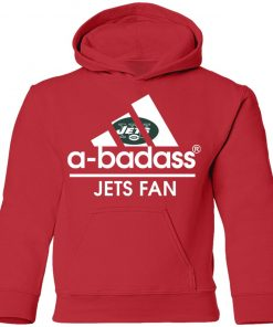 A-Badass New York Jets Mashup Adidas NFL Youth Hoodie