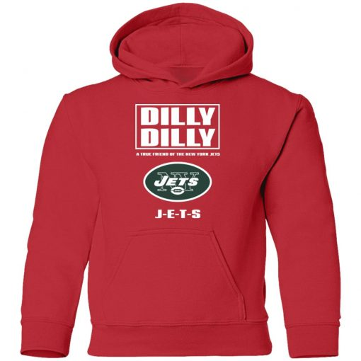 A True Friend Of The New York Jets Youth Hoodie