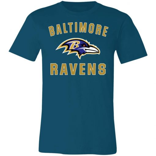 Baltimore Ravens NFL Line by Fanatics Branded Gray Victory Unisex Jersey Tee